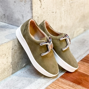 KNOT SUEDE-flats-Scarpa